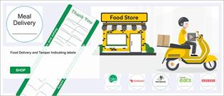 *NEW* Food Delivery and Tamper Indicating Labels