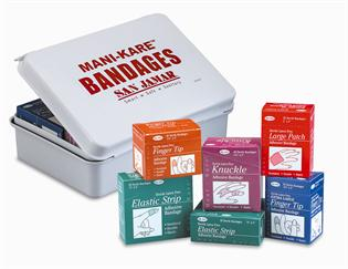 Mani-Kare® Blue Bandages