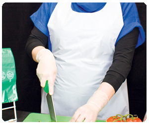 Commercial Poly Aprons
